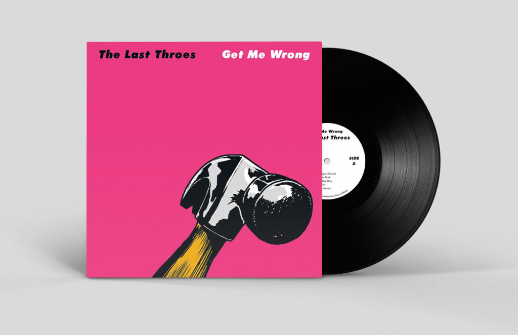 Album Cover Design And Illustration: The Last Throes