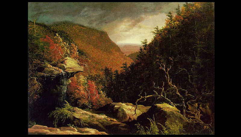 Thomas's work was quickly added to the major art exhibitions that year. People were astounded by the dramatic natural beauty that he captured on canvas. The wilderness had often been viewed fearfully. Now it was being celebrated. Thomas's landscapes gave Americans a source of pride in their beautiful land.